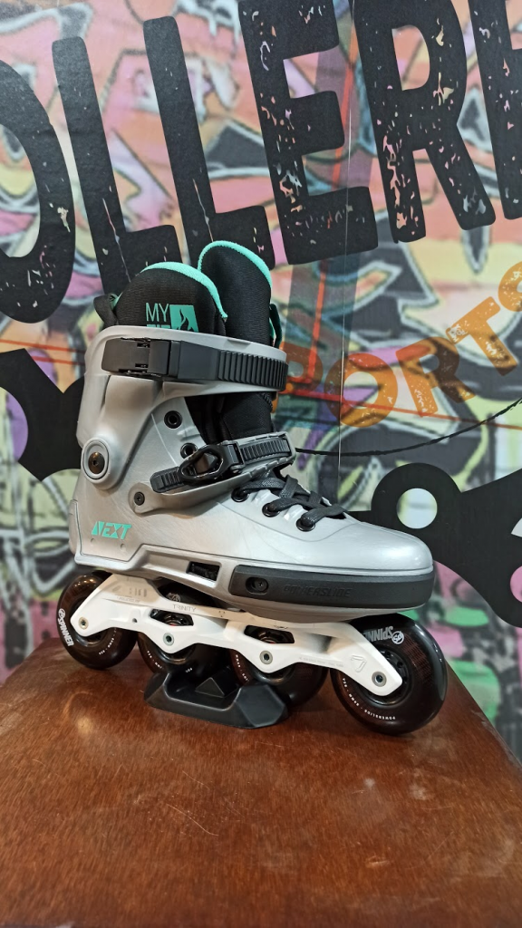 PATINES POWERSLIDE NEXT ARTIC GREY 80